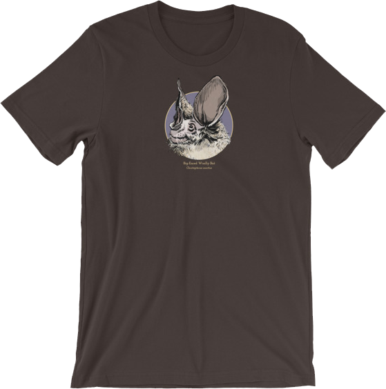 Big-Eared Bat t-shirt from the 2 New Things Store