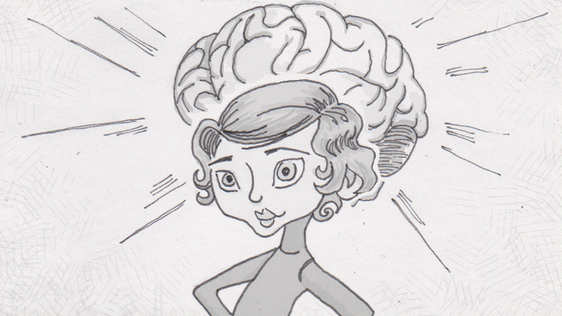 How Annie Huit's eight-year-old brain could grow up overnight