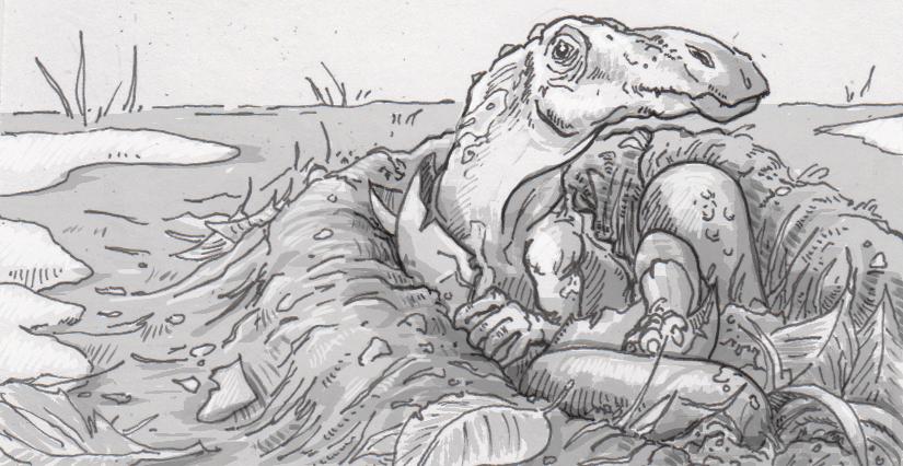 Hatching Ugrunaaluk kuukpikensis