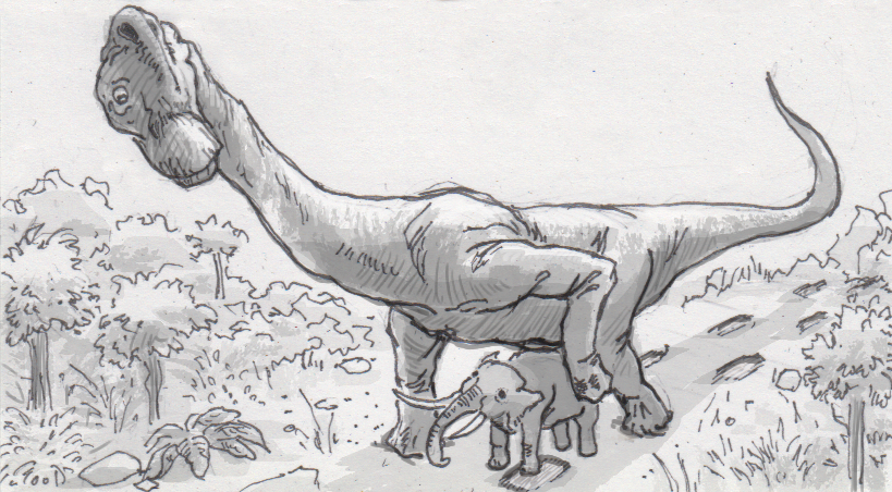 Elephant feet provide context in studies of extinct sauropods' footprints