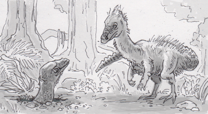 The difficult task of deciphering the world's first known digging dinosaur