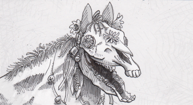 Wales celebrates mid-winter with the skull-faced puppet of Mari Lwyd