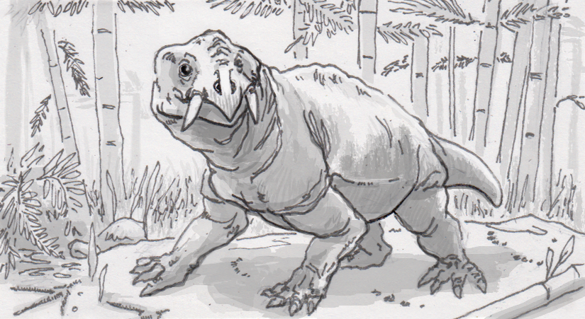Disregarded fossils and footprints help disprove dicynodonts' assumed extinction