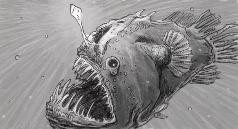 Anglerfish's biolumincent bacteria retain a strange potential for independence