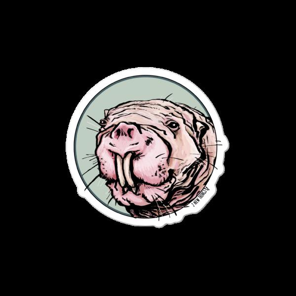 Naked Mole Rat vinyl sticker