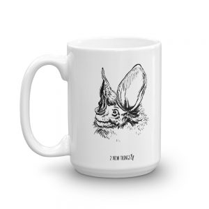 Woolly False Vampire Bat mug