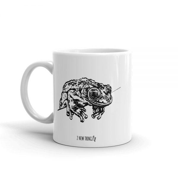 Greening's Frog coffee mug